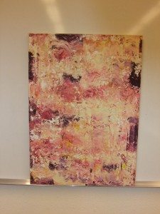 Abstrakt-Beige-50x70cm