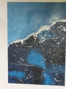 Eisblau-50x70cm